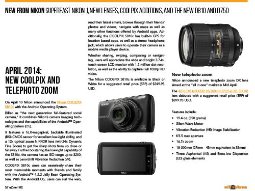 New fro Nikon