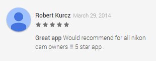 mGallery Google Play review